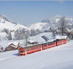 Appenzeller Bahnen (AB) in Switzerland Urnäsch (AR)