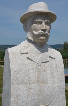 Chernel István szobor - Fotó: Ódor Balázs - Bazsa Fotó