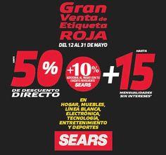 Gran venta de Etiqueta Roja Sears