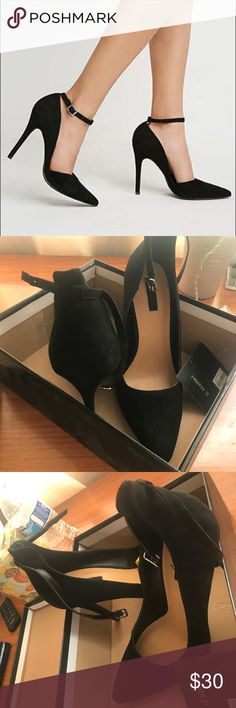 Black heels Great Condition worn once Shoes Heels
