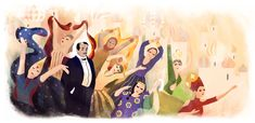 Google's New Doodle Celebrates Sergei Diaghilev, Creator of the Ballet Russes