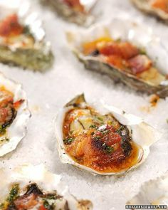 Classic Appitizers: Oysters Casino