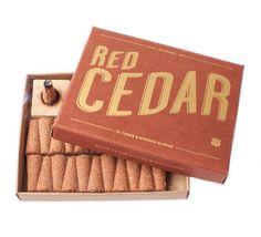 Izola Red Cedar Incense www.westgoods.co