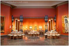 Reception in the Rotunda in the Historic Landmark Building | Dina & Robert: Pennsylvania Academy of the Fine Arts Wedding