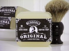 The same rich, abundant lather found in all of the Madame's shaving soaps, now available in its original, unscented form. The addition of white kaolin clay makes this soap extra gentle, wonderful for sensitive skin. MEMBER - scodioli