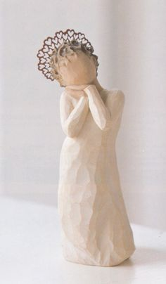polymer clay angel | Willow Tree - Angel Love | polymer clay ideas