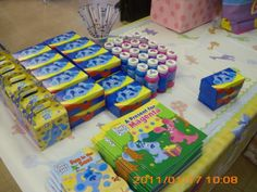 Blue's Clue's Birthday Party Favors #bluesclues #partyfavors