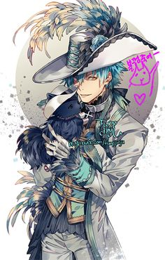 Aoba Seragaki // DMMD What is he wearing? Not that I'm judging...