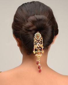 Kalyani Hair Pin  by Bansri Joaillerie