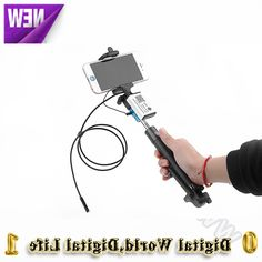 36.02$  Watch now - http://ali3et.worldwells.pw/go.php?t=32778721260 - 7mm Monopod phone Selfie stick wifi endoscope camera 6LED 1/3.5/5M cable IP66 iOS Android Phone inspection Borescope endoscope 36.02$