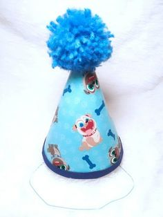 Puppy Dog Pals Birthday Party Hat 1st Puppies