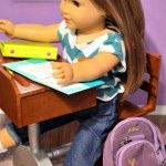 Camp Doll Diaries - Printable School Paper for Dolls