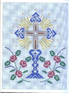 Thrilling Designing Your Own Cross Stitch Embroidery Patterns Ideas. Exhilarating Designing Your Own Cross Stitch Embroidery Patterns Ideas. Cross Stitch Fabric, Cross Stitch Borders, Cross Stitch Designs, Cross Stitching, Cross Stitch Embroidery, Embroidery Patterns, Cross Stitch Patterns, Faith Crafts, Catholic Crafts