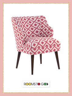 Hannah accent chair adds a chic, yet sophisticated edge to any room.