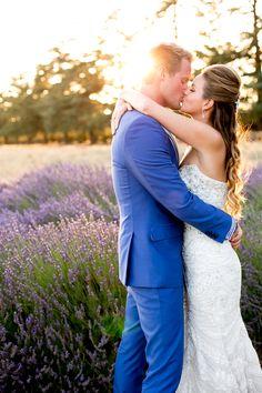 Lavender Field Wedding!! See more here: http://www.bradypuryearblog.com/2014/07/highland-springs-resort-wedding-maranda-rob/