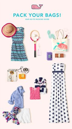 Get ready for your upcoming summer vacation with Vineyard Vines!