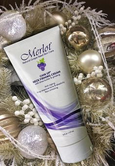 Keep your chin up, soft and smooth through the holiday season. www.merlotskincare.com
