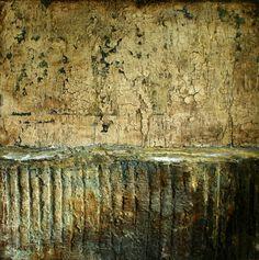 Mischtechnik auf Leinwand 60x60x4 cm Ostsee-Galerie Timmendorfer Strand -verkauft-