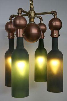 35 striking recycled lamps that are borderline genius - Blog of Francesco Mugnai