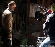 Behind-the-Scenes Photos from The Walking Dead Season 3
