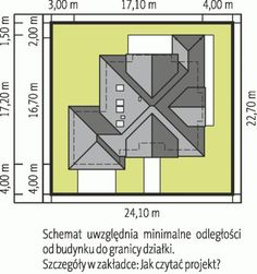 DOM.PL™ - Projekt domu AC Naomi G2 CE - DOM AF1-08 - gotowy koszt budowy Micro House, House Plans, Projects To Try, Floor Plans, How To Plan, House Styles, Houses, Ceilings, Poland