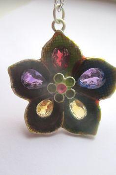 Silver Flower Pendant