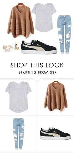 A fashion look from September 2016 featuring v neck sweater, tee-shirt and blue jeans. Browse and shop related looks. Tee Shirts, Tees, Blue Jeans, Topshop, Fashion Looks, V Neck, Fall, Polyvore, Sweaters