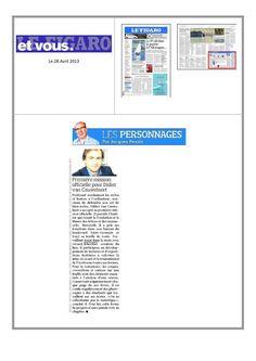 Première mission officielle pour Didier Van Cauwelaert président de l'Institut des Lettres et Manuscrits