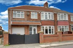 4 bedroom semi-detached house for sale in Ashkirk Road, Normanby - Rightmove. Side Extension, Extension Ideas, Semi Detached, Detached House, 1930s House Exterior, Garage Canopies, Home Exterior Makeover, House Extensions, Home Renovation