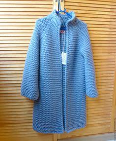 Купить Кардиган GREY - свитер вязаный, свитер спицами, вязаная одежда, вязание…