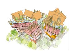 Matt Lucraft's Dagenham Breach Housing Co-operative is a plan for a settlement of self-built and customisable homes that seeks to tacklethe scarcity of affordable housing in the British capital.