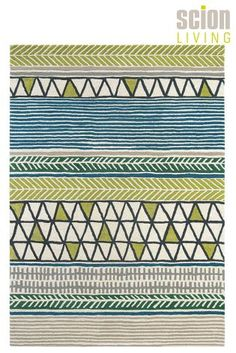 Scion Raita Green And Blue Rug From The Next Uk Online Rugs On Carpet