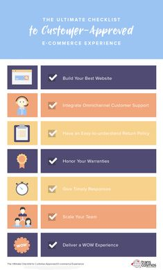 A visual guide to filipino office etiquette and culture infographic the ultimate checklist to customer approved e commerce experience transcosmos fandeluxe Images