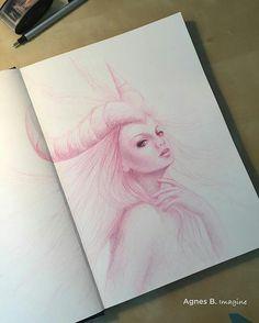 Fantasy Drawings, Fantasy Art, Portrait Art, Shout Out, Sketching, Concept Art, Creatures, Strong, Profile