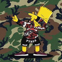 Dabbin' Bart Simpson ❌ Supreme ❌ Adidas Ultra Boost on Behance
