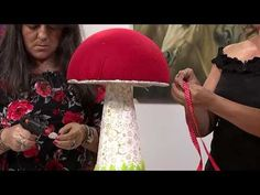 Sección Mi Taller del Programa El Yipao, 31 de Octubre - YouTube Creative Gift Wrapping, Creative Gifts, Primitive Doll Patterns, Snowman, Lily, Crochet, Christmas, Design, Ideas