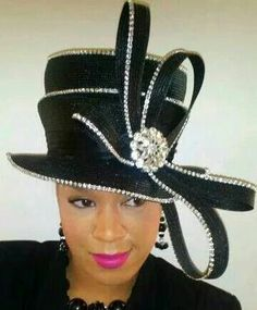 c9cc5c0d90d Marlayna s Favor Hats. Whitney A · Hats Galore! Love this hat Church ...