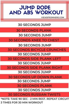 Jump Rope Workout, Ab Workout At Home, At Home Workouts, Jump Rope Routine, Jump Rope Challenge, Cardio Challenge, Fit Board Workouts, Fun Workouts, Outdoor Workouts