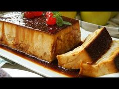 Apple pudding with bread Jello Pudding Recipes, Cake Recipes, Dessert Recipes, Desserts, Cuban Dishes, Spanish Dishes, Flan, Spanish Bread, Chocolates