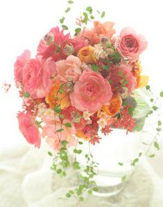 色とりどりのフルーツみたいな、ラナンキュラスはそういう透明感をもってかつキュートな花です。く。かわいい。以前はいまひとつ魅力がわからなかったのですがずっと...