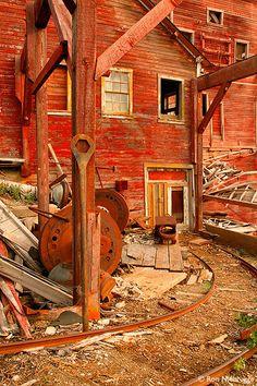 Historic Kennecott Mill, Kennecott, Alaska Photo