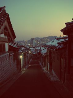 Seoul, South Korea. __ i miss those snows..