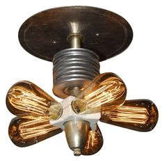 Steampunk Lighting Ceiling Light Fixture