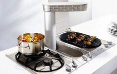 VL051 by Gaggenau brings fume removal right to where you need it.