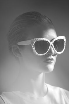 46d1450b4596 Sunglasses by Linda Farrow for the love of accessories.