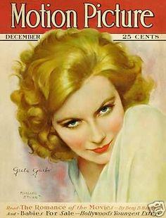 Motion Picture Magazine with Greta Garbo 1927