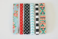 The Pretty Life Girls: PLA DIY: Patterned Hair Clips