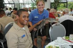 We are so proud of the men and women who serve in our nation's military. For Fleet Week, we hosted the Enlisted Recognition Luncheon at SeaWorld San Diego.