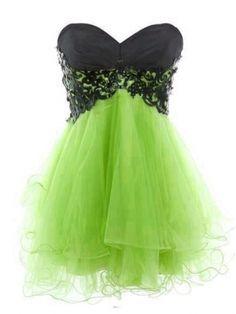 Fantastic Lace Ball Gown Sweetheart Mini Prom Dress/Graduation Dress [E004] - $152.99 : 24inshop