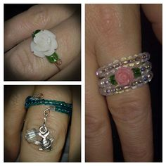 Memory Wire Rings by LoveEmCreations4U on Etsy https://www.etsy.com/listing/211720122/memory-wire-rings